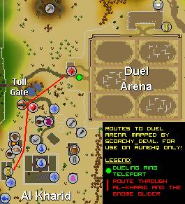 OSRS Duel Arena - RuneScape Guide - RuneHQ