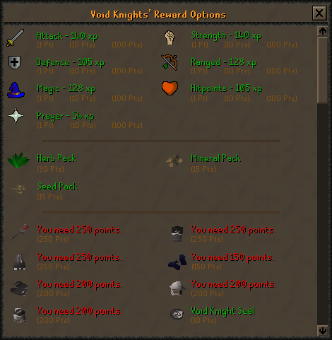 Pests: Pest Control Osrs