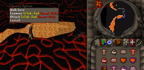 Hiding from TzTok-Jad
