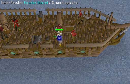 how to set up cannon osrs