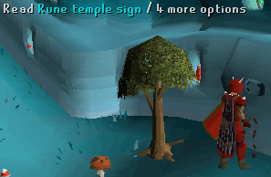 Rune Temple Sign