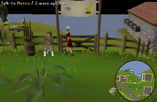runescape how to get to waterfall fishing
