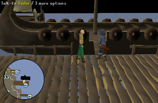 how to find olaf the bard osrs