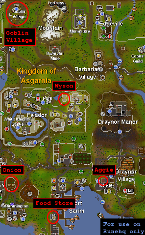 Osrs goblin diplomacy runescape guide runehq map publicscrutiny Image collections