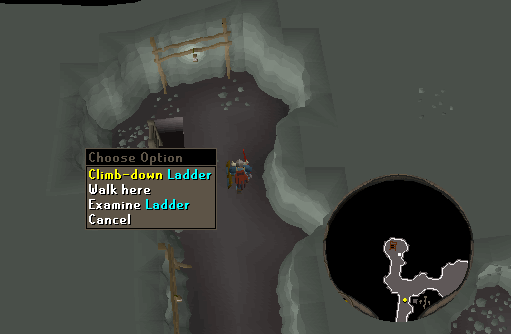 osrs how to use the mine carts