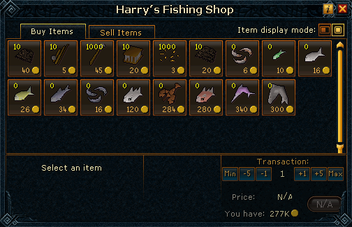 Harry's Fishing Shop