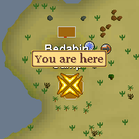 Bedabin Nomad Location