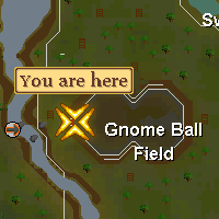 Gnome baller's location