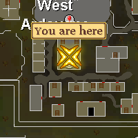 Priest (West Ardougne)'s Location