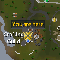 Crafting Guild Tanner Location