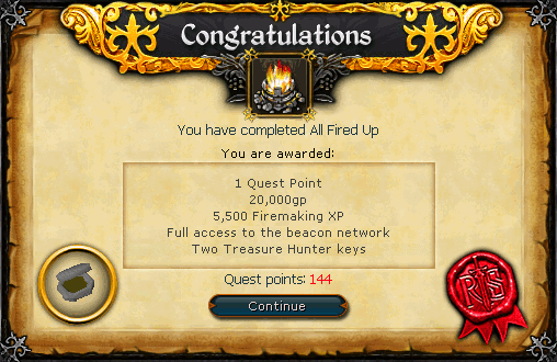 All Fired Up Complete Scroll