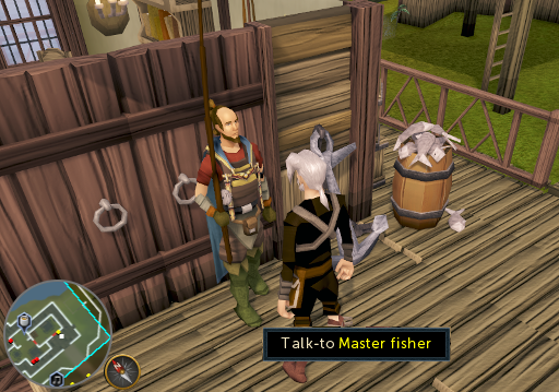 Speaking to Master Fisher