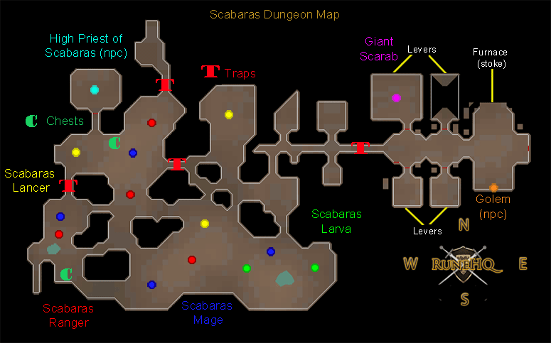 Scabaras Quest map
