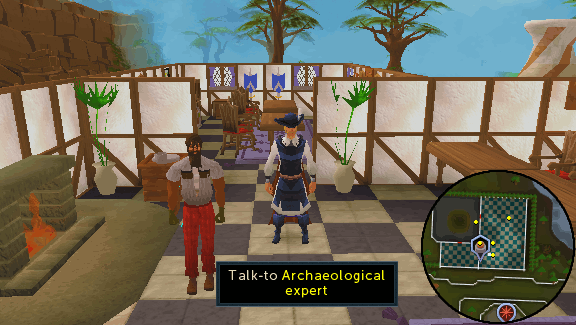 Archaeological expert