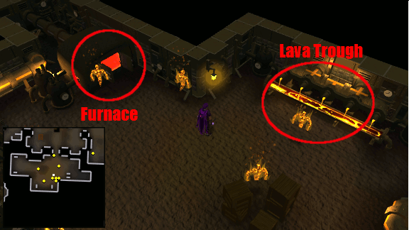Lava and Furnace