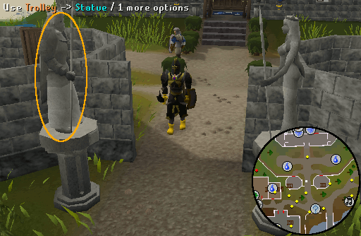 Lumbridge Statue