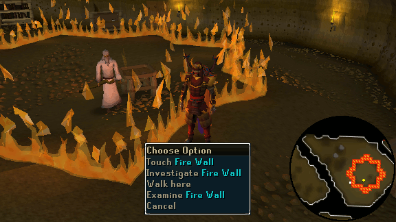 Flame Wall