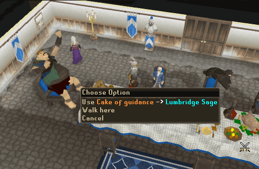 Saving the Lumbridge Sage