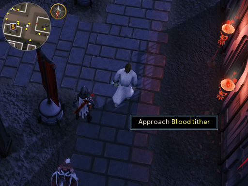Blood tither