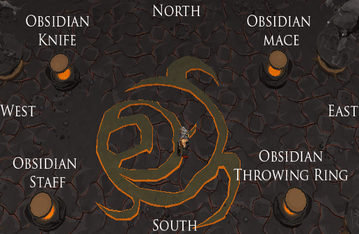 Obsidian Items Puzzle