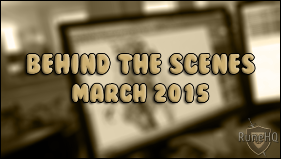 Behind the Scenes - March 2015