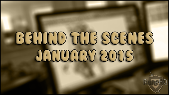 Behind the Scenes - January 2015
