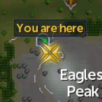 Eagles' Peak agility shortcut