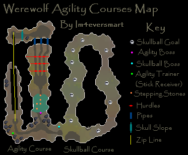 Werewolf map