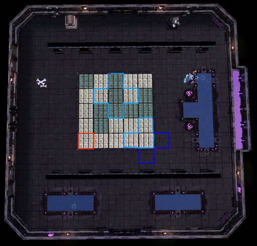 Flip Tile Puzzle Room