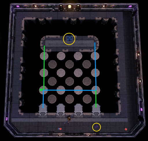 Lodestone power-up puzzle room