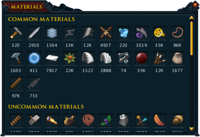 materials interface