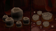 Rocks Before and After