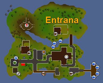 Sandpit location Entrana