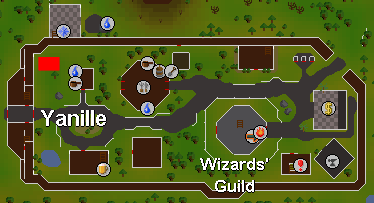 Sandpit location Yanille