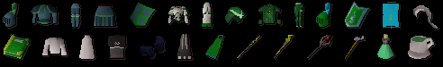 Guthix Items