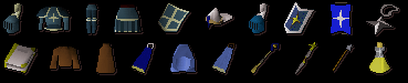 Saradomin Items