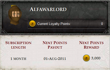 Loyalty Points