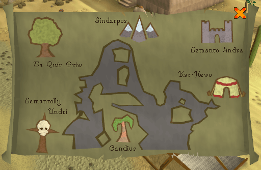 Gnome glider map pic