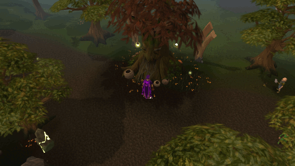 Gnome stronghold spirit tree