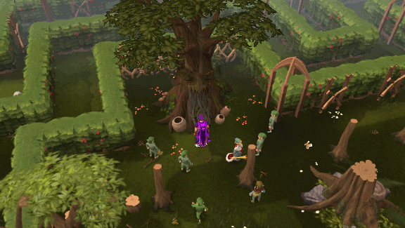 Tree gnome village spirit tree
