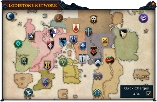 Lodestone Network Map