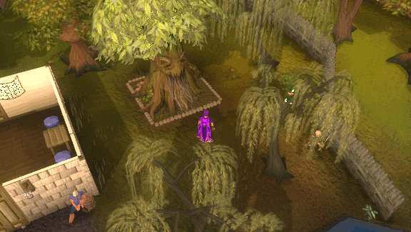 Port Sarim spirit tree
