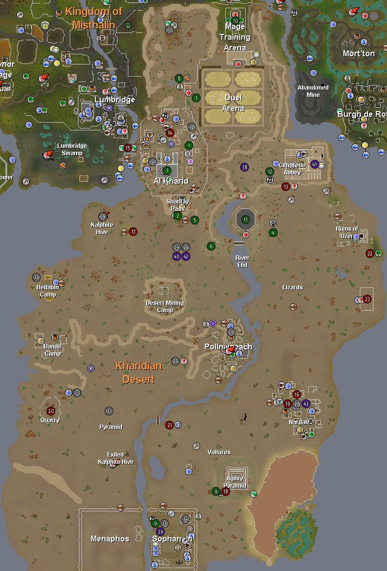 Desert Runescape Guide Runehq