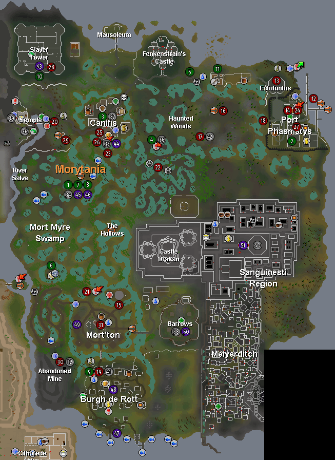 Morytania Runescape Guide Runehq