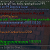 99 Defence chat box