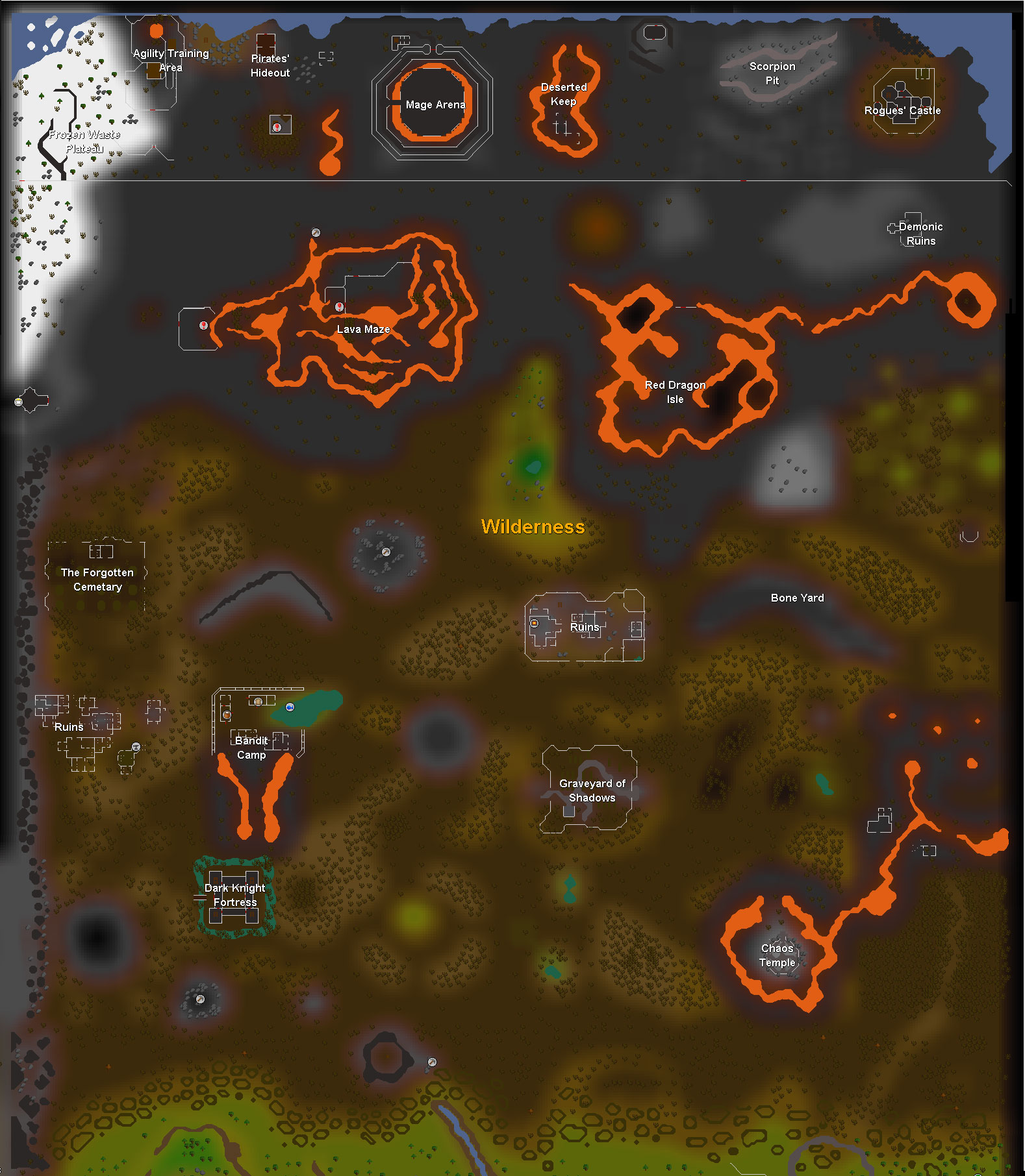 barrows brothers wilderness map